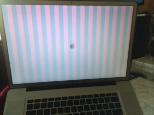 problema video Macbook A1286