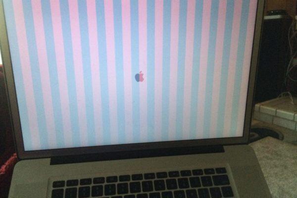 problema video Macbook A1286