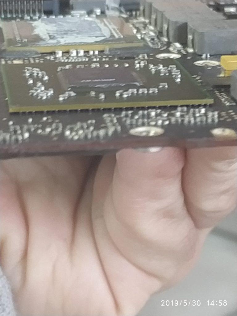 Puntamento automatico del chip grafico, saldatura perfetta delle solder ball da 0,50 mm