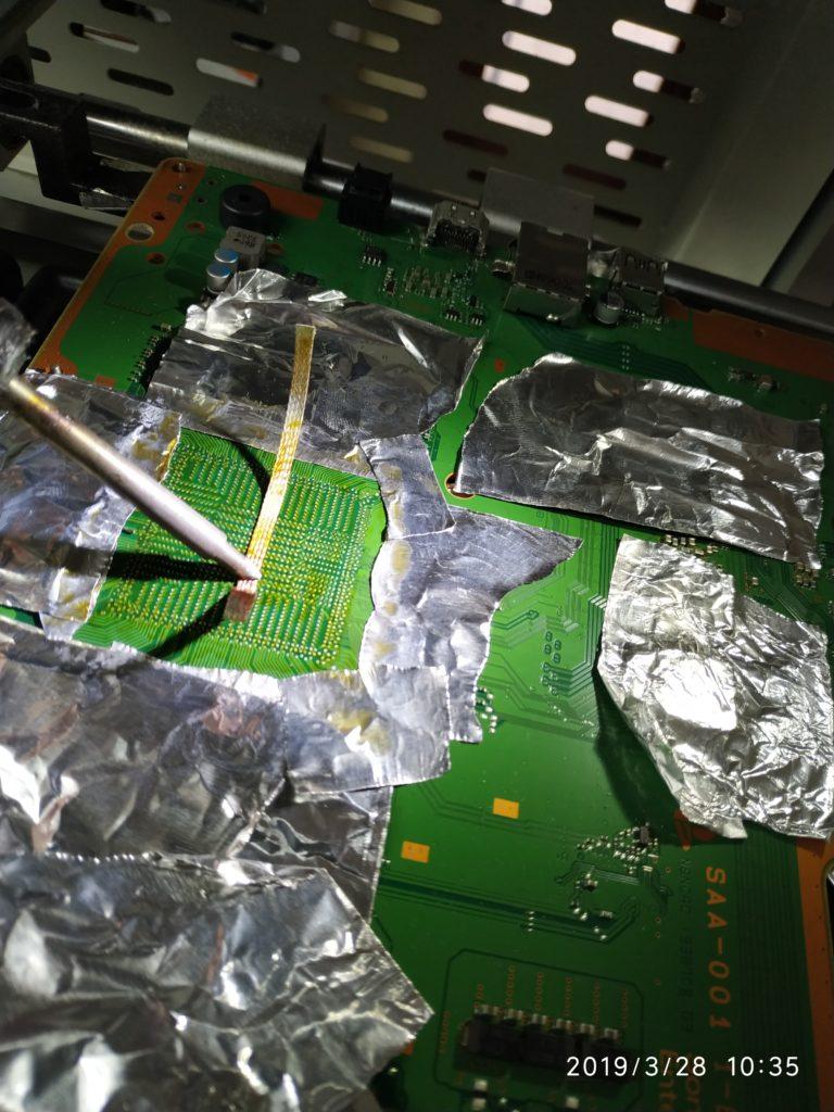 Playstation 4 problema scheda video